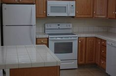 Love the kitchen in this new townhouse in Orrington. I don't love the $1,000 a month rental price...but the kitchen is nice!