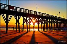 Surf City, NC Sunrise at the Pier