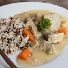 blanquette de veau Tofu, Domestic Goddess, Cooking Time, Risotto, Chicken, Meat, Dinner, Ethnic Recipes, Sweden