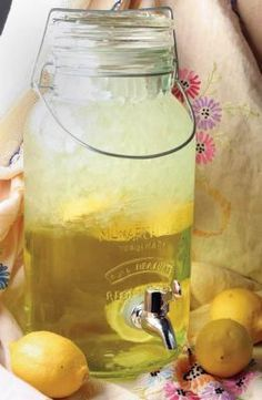 Recipe for Homemade Lemonade - There is nothing more refreshing than homemade lemonade on the lazy, hazy, dog days of summer. This is my favorite recipe and it is so much better than store bought powdered mix.