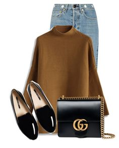 """""""Untitled #19917"""" by nanette-253 ❤ liked on Polyvore featuring rag & bone, Chicwish and Gucci"""