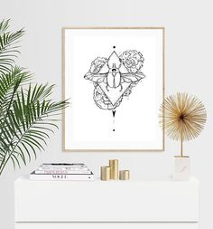 Lunar Scarab Beetle with Peonies Luxury Pen & Ink Illustration Print - or Luxury Pens, Ink Illustrations, A5, Beetle, Peonies, I Shop, Trending Outfits, Unique Jewelry, Handmade Gifts