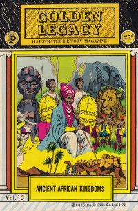 Ancient African Kingdom Illustrated Black History Magazine