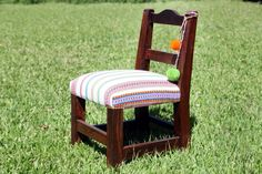 Colourful small chair