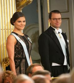 20 DECEMBER 2013 The Swedish Royal Family attended  Swedish Academy' s formal gathering held at the Stock Exchange in Stockholm
