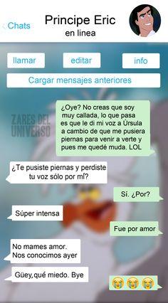 » ¿Qué hubiera pasado si los personajes de las películas tuvieran Whatsapp? Zares del Universo Funny Images, Funny Photos, Mexican Memes, Pinterest Memes, Humor Grafico, Cheer Up, Disney Love, Ariel Disney, Disney Princess