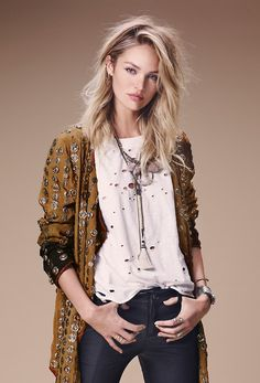 Candice Swanepoel for Free people lookbook July 2014 (NAIMA BARCELONA)