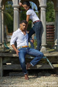 #Luxury #Argentine #leather #polobelts from #pampeano. Modeled by Alain Sanchez and #FundaOnal from #MadeInChelsea #MIC
