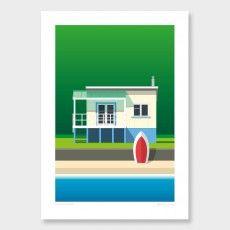 Glenn Jones Art - Print Collection Jan-Apr 2017 on Behance New Zealand Art, Nz Art, Fine Art Prints, Framed Prints, Kiwiana, The Perfect Getaway, Beach Art, Home Art, Art For Kids