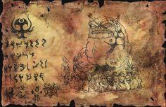 Unaussprechliches Dokument 003 Anbetung von Tsathoggua <br> <br>Fundstücke verbotener Kulte.