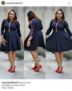 African Formal Dress, African Attire, African Fashion Dresses, African Dress, Big Girl Fashion, 40s Fashion, Fashion Outfits, Modest Dresses, Cute Dresses