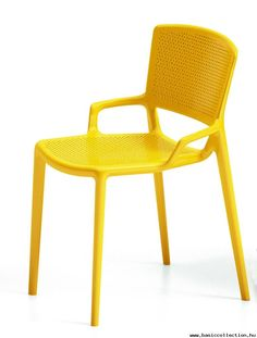 Superbe Basic Collection, Fiorellina Chair #outdoor #furniture #chair #outdoor # Yellow #