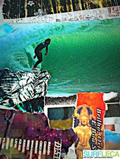 Collaboration Work between Tó Mané and Filipa Costa. Detail.Surf Art. Photo: Tó Mané (Gran Canaria, 2012) Filipa Costa (Hand Made collage, 2015). More informations: surfleca@sapo.pt. Follow us on instagram:@surf_leca. #SurfArt #Art #Photos #Surf #Collage #Surfartists #Artists #SurfArtGallery #ArtGallery #LeçaDaPalmeira #