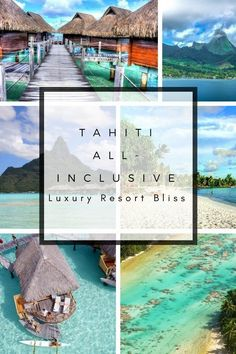 Best All Inclusive Resorts in Tahiti and French Polynesia. Bungalow resorts and hotels for an amazing honeymoon or romantic getaway in paradise. All Inclusive Honeymoon, Best All Inclusive Resorts, Inclusive Holidays, Best Hotels, Amazing Hotels, Luxury Resorts, Romantic Beach Getaways, Romantic Getaway, Bungalow Resorts