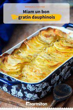 La recette du célèbre gratin dauphinois, un accompagnement parfait pour tous vos repas #gratin #dauphinois #gratindauphinois #recettemarmiton #recette #cuisine #marmiton