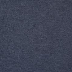 India Ink Navy Blue Polyester Bonded Lamination Neoprene Fabric by the Yard | Mood Fabrics