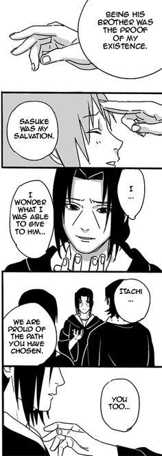 Naruto — honey-vanilla: I will always love you by. Sasuke And Itachi, Madara Uchiha, Kakashi, Naruto Shippuden, Sasunaru, Naruto Comic, Naruto Funny, Anime Naruto, Anime Manga