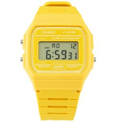 Casio Classic Mustard Yellow Watch F-91WC-9AEF from This fantastically retro watch NEVER goes out of fashion! We all loved our Casio watches back in the 80s and still love them now. This watch will make any outfit look instantly cool! Do you think the  http://www.MightGet.com/may-2017-1/casio-classic-mustard-yellow-watch-f-91wc-9aef-from.asp