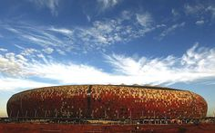 Ranking the Top 20 Stadiums in World Football First National Bank Stadium (Johannesburg, South Africa) Tenants: Kaizer Chiefs, the South African Football Final, National Football Teams, 1982 World Cup, Fifa World Cup, World Football, Football Stadiums, History Of Soccer, Soccer City, Kaizer Chiefs