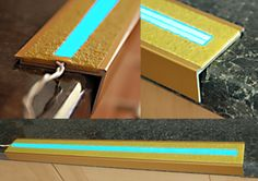 LumaGrip GRP Anti-Slip Tread Insert with Electric Blue Light Tape® http://www.lighttape.co.uk