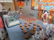 Resultado de imagen para fiesta tematica dragon ball Goku Dragon, Go Ku, Dragon Ball Z Shirt, Dbz, Table Decorations, Home Decor, Shirts, Ideas, Theme Parties