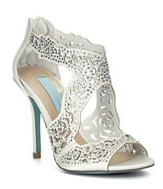 24a8d78f4f 10 Best Rhinestone Bling Wedding Shoes images | Bling shoes, Diamond ...