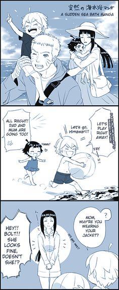 Naruhina: A Sudden Sea Bath Manga Pg1 by bluedragonfan on DeviantArt