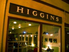 Want some comfort food? Higgins has some amazing soups at the back of the bar. Perfect for warming up on a chilly evening!