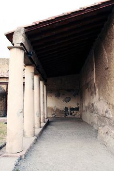 Herculaneum Baths Exterior    The outside of the Terme Femminili in Herculaneum.  The Terme del Foro (Forum Baths) in Herculaneum contains sections for both men and women.    The Terme Femminili (women's baths) are the better preserved of the two, with well preserved mosaic floors.    The Terme del Foro (Forum Baths) in Herculaneum contains sections for both men and women.    The Terme Femminili (women's baths) are the better preserved of the two, with well preserved mosaic floors