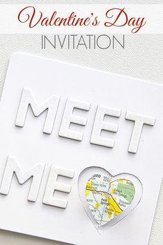 DIY Date Night Invitation