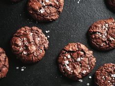 21 Winter Dessert Recipes To Start Making Now Double Chocolate Brownies, Chocolate Brownie Cookies, No Bake Desserts, Dessert Recipes, Winter Desserts, Aesthetic Food, Recipe Collection, Baking Recipes, Cakes