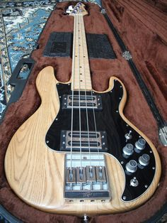 Play bass guitar in a band