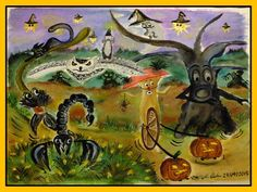 'In Time For Halloween' by Monika Clough