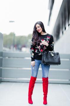 Jersey bordado Moda - Crímenes de la Moda