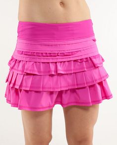 Lululemon has great stuff, but most of the items limited/limited edition so if you see something you like, grab it quick! running skirt! pink would be cute for a princess aurora running outfit.