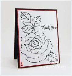 CC565 Sketchy Rose