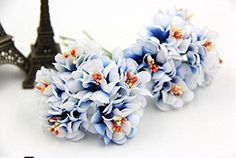 12pcs Bouquet High Quality Fake Artificial Mini Silk Flower Home Wedding Decor * Read more  at the image link.Note:It is affiliate link to Amazon.