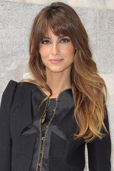 Uzun Yüzlere Giden Ombre Saç Modelleri