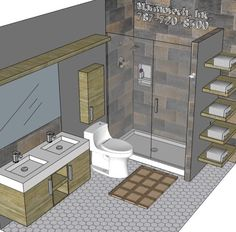 8 Best Bathroom 6x10 Images Go To Facebook