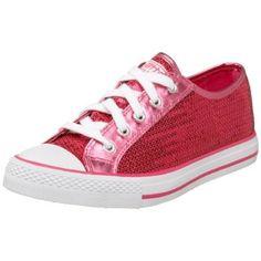 My pink sequin sneakers!