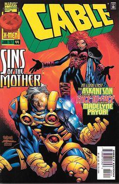 Cable # 44 Marvel Comics Vol 1