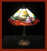 Cours de Vitrail Restaurant, Centre, Table Lamp, Home Decor, Restoration, Stained Glass Panels, Table Lamps, Decoration Home, Room Decor