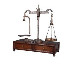 Sarreid Large Antique Scale On Stand, 24450 French Antiques, Vintage Antiques, Vintage Items, Loft Furniture, French Furniture, Old Scales, British Colonial, Yard Sale, Inspired Homes