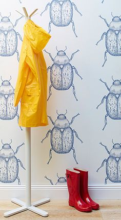Beetle Wallpaper from Porter's Paints