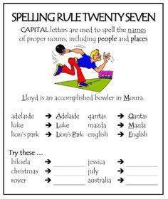 Spelling rule 27