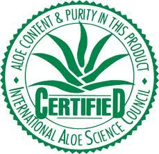 Forever Living Products - is approved and certified by the International Aloe Science Council.