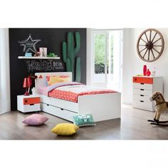 Junior Options Bed Frame with Trundle | Domayne Online Store