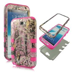 2D Hybrid 3 in 1 Pink Camo Grass Samsung Galaxy Note 2, II N7100, T889 High Impact Shock Defender Plastic Outside with Soft Silicone Inside Drop Defender Snap-on Cover Case by wirelesspulse, http://www.amazon.com/dp/B00DRM0SE6/ref=cm_sw_r_pi_dp_nOU5rb073EDW3