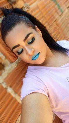Maquiagem sereia     #makesereia #maquigem #makeup