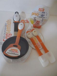 NWT Joie 5 Pc Eggy Fry Pan,Spatulas,Measuring Cup Kitchen Tools Cooking Baking  #MSCInternational